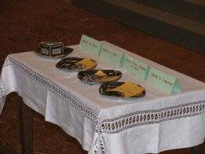 Le chiavi utilizzate per aprire la grata che protegge le reliquie