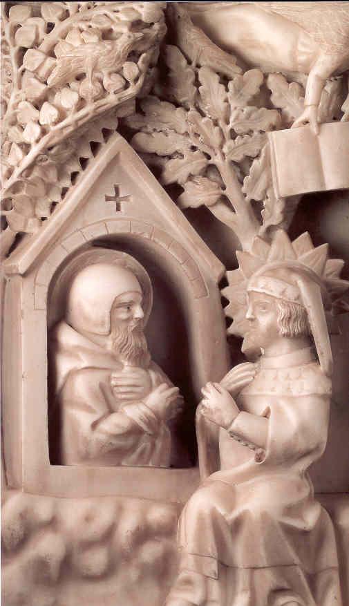 La conversione di Agostino - particolare dell'Arca
