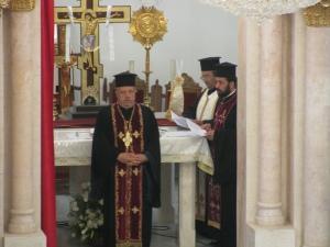 Celebrazione dei Vespri con i sacerdoti, i religiosi e le religiose, i seminaristi e i movimenti ecclesiali nella Cattedrale Greco-Melkita di S. Giorgio (Amman, 9 maggio 2009)