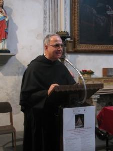 Padre Giustino Casciano, priore della Comunità agostiniana di Pavia