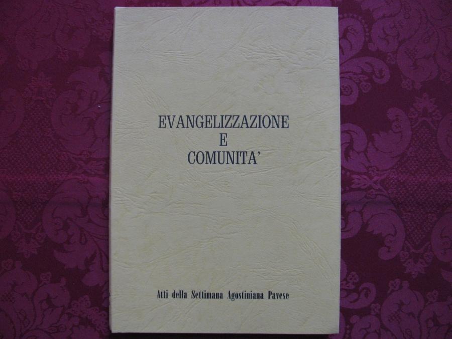 Evangelizzazione e Comunità