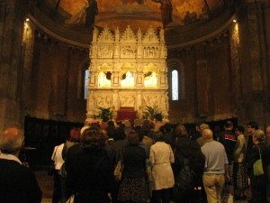 XLIII Settimana Agostiniana Pavese, omaggio dei fedeli alle reliquie di Sant'Agostino
