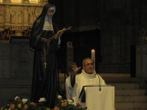 Festa di Santa Rita 2011, il priore padre Giustino Casciano