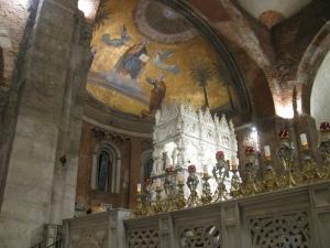 Festa di Santa Rita 2011, abside della Basilica