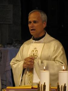 Padre Robert Prevost, priore generale dell'Ordine Agostiniano
