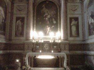 Tomba di Santa Monica, Roma, Basilica di Sant'Agostino
