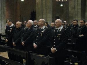 I vertici dell'Arma dei Carabinieri in Basilica per la S. Messa in onore della Virgo Fidelis