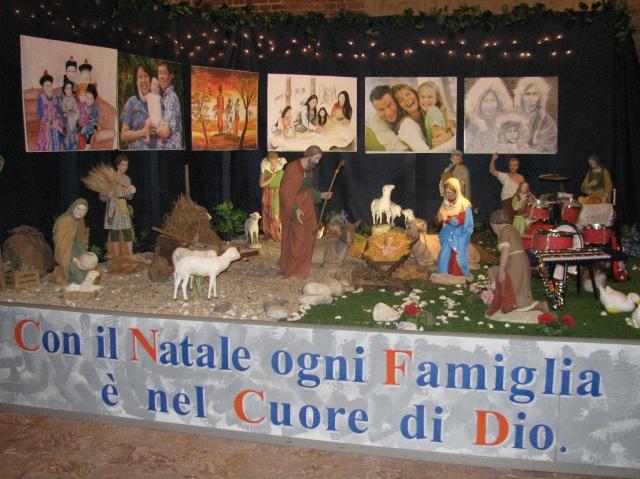 Immagine di repertorio, presepe allestito in Basilica