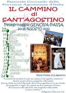 Il programma del pellegrinaggio 2012