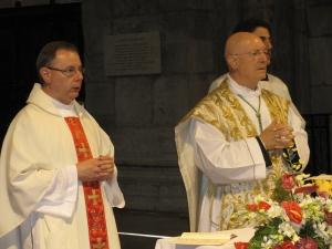 Don Gianluigi Corti e monsignor Giovanni Giudici
