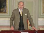 Convegno S.Agostino - il saluto del prorettore Gianni Francioni