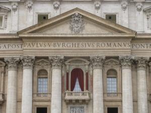 Basilica di San Pietro in vaticano, Loggia delle Benedizioni