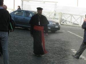 Il cardinale Prosper Grech O.S.A.