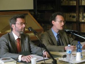 Giovanni Catapano e Roland Kany
