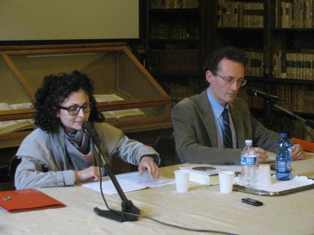 Giovanni Catapano e Beatrice Cillerai