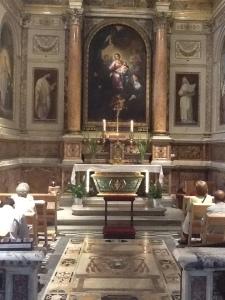 Cappella di Santa Monica, chiesa di Sant'Agostino in Campo Marzio
