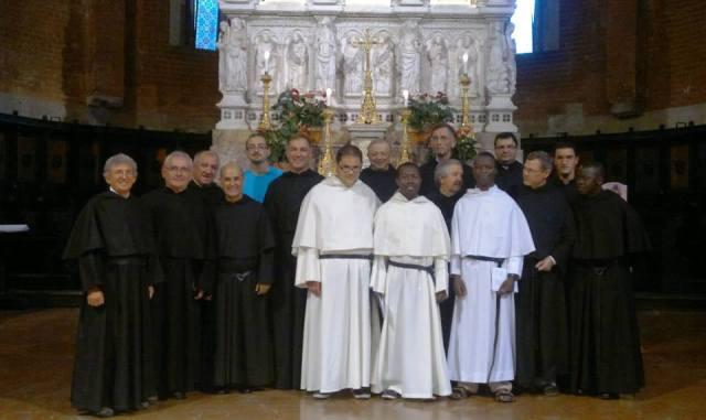 I tre novizi agostiniani