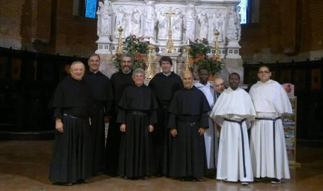 Il Priore Generale Padre Alejandro Moral Antón in visita a Pavia
