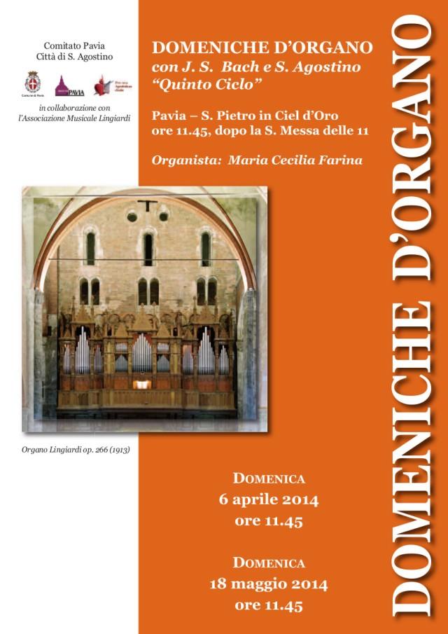 Domeniche d'organo 2014
