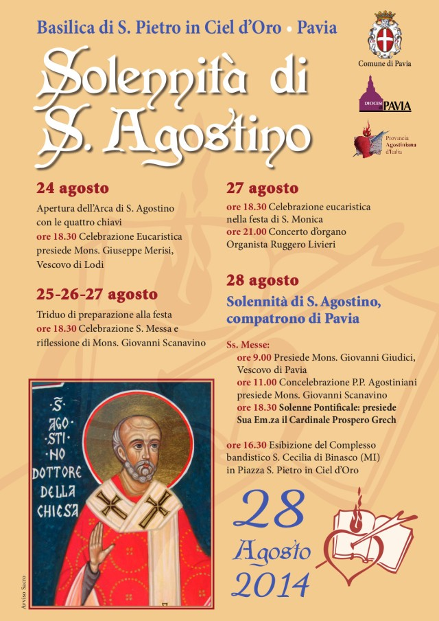 Locandina S.Agostino 2014