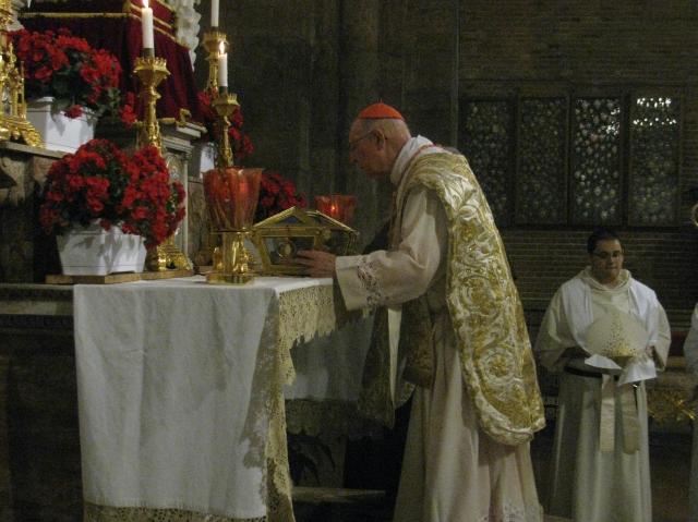 Il cardinale Grech rende omaggio a Sant'Agostino