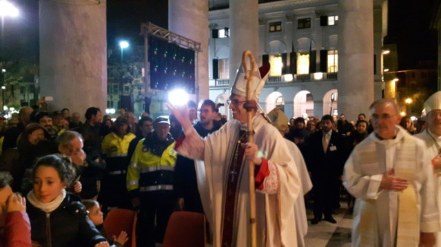 Mons. Sanguineti, vescovo di Pavia (foto tratta da http://www.diocesichiavari.it/?p=5832 )