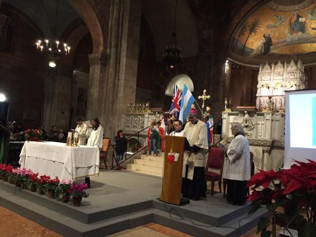 Mons. Sanguineti presiede in Basilica la Veglia per la vita