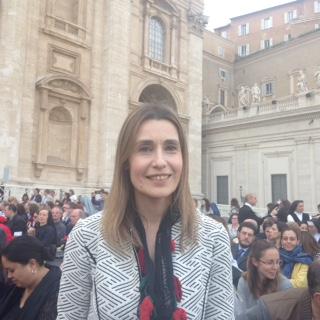 Claudia Koll in Basilica di San Pietro in Ciel d'Oro il prossimo 22 aprile