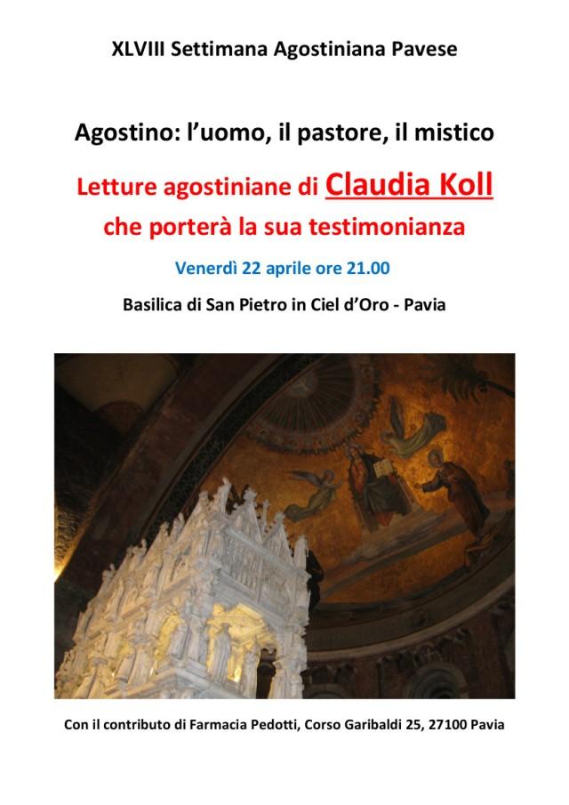 Incontro del 22 aprile in Basilica