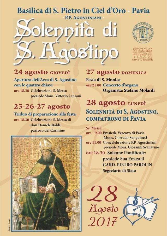 Festa di Sant'Agostino 2017 - Il programma