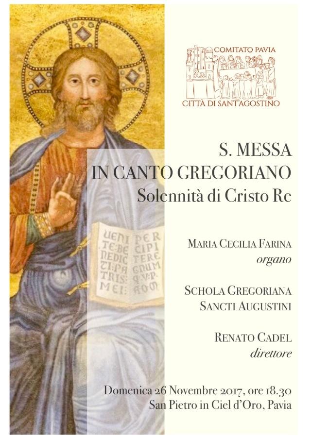 S.Messa in canto gregoriano